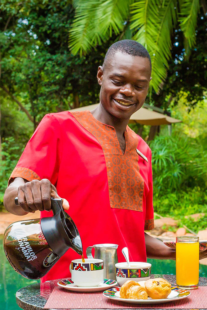 Boma Cafe Friendly Faces Victoria Falls