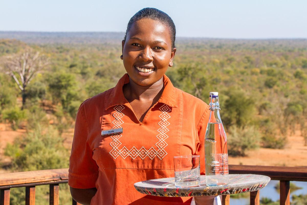 Victoria Falls Safari Lodge Waitress - Kudakwashe Ruwuya